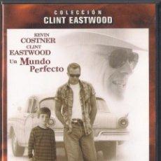 Cine: UN MUNDO PERFECTO (A PERFECT WORLD) - CLINT EASTWOOD - DVD WARNER 2002. Lote 65015471