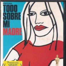 Cine: TODO SOBRE MI MADRE - PEDRO ALMODOVAR - DVD 1999 - FILMAX.. Lote 65604146