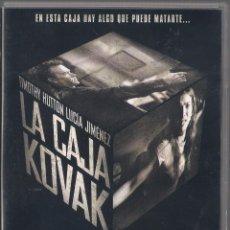 Cine: LA CAJA KOVAK - DANIEL MONZÓN - DVD 2006 FILMAX. Lote 65630274