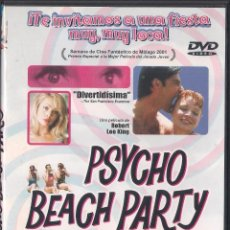 Cine: PSYCHO BEACH PARTY - ROBERT LEE KING - DVD 2013 BIG TIME PICTURES. Lote 65898898