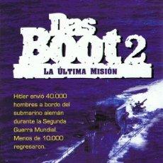 Cine: DVD DAS BOOT 2 LA ÚLTIMA MISIÓN . Lote 65925186