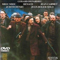 Cine: DVD GERMINAL GERARD DEPARDIEU . Lote 65927398