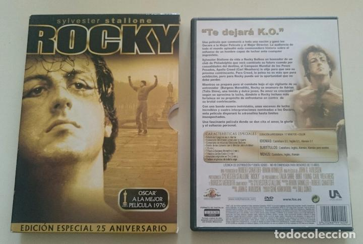 ROCKY SYLVESTER STALLONE DVD EDICIÓN ESPECIAL 25 ANIVERSARIO (Cine - Películas - DVD)
