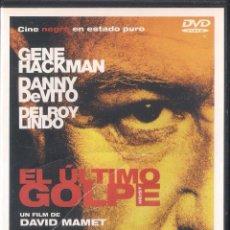 Cine: EL ÚLTIMO GOLPE - DAVID MAMET - DVD 2010. Lote 66022114