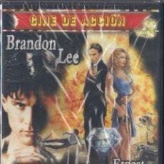 Cine: BRANDON LEE - LASER MISION - DVD NUEVO PRECINTADO. Lote 66057026