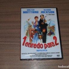 Cine: 1 ENREDO PARA 2 DVD WALTER MATTHAU GLENDA JACKSON NUEVA PRECINTADA. Lote 261548020