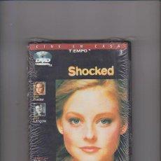 Cine: SHOCKED - JODIE FOSTER & JOHN LITHGOW - DVD PRECINTADO. Lote 66257202