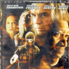Cine: CINE GOYO - DVD - LEVITY - BILLY BOB THORTON - MORGAN FREEMAN - HOLLY HUNTER *AA98. Lote 66273826
