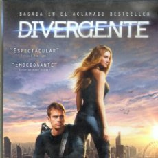 Cine: CINE GOYO - DVD - DIVERGENTE - SHAILENE WOODLEY - THEO JAMES - ASHLEY JUDD - *CC99. Lote 66278506
