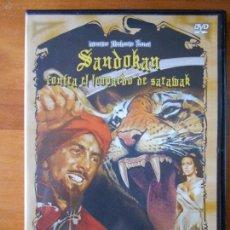 Cine: DVD SANDOKAN CONTRA EL LEOPARDO DE SARAWAK - RAY DANTON - GUY MADISON (J5). Lote 66329314