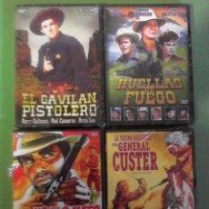 Cine: LOTE PACK DE PELICULAS DVD DEL OESTE PRECINTADAS. Lote 90142415