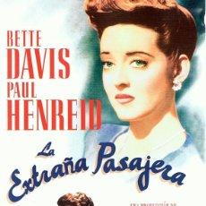 Cine: DVD LA EXTRAÑA PASAJERA BETTE DAVIS . Lote 66813338