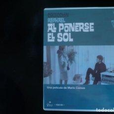 Cine: AL PONERSE EL SOL - RAPHAEL (DVD NUEVO PRECINTADO ). Lote 148095165