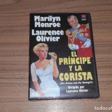 Cine: EL PRINCIPE Y LA CORISTA DVD MARILYN MONROE NUEVA PRECINTADA. Lote 151720620