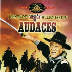 Cine: DVD MISIÓN DE AUDACES JOHN WAYNE. Lote 216573061