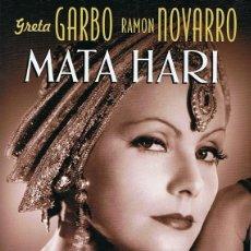 Cine: DVD MATA HARI GRETA GARBO . Lote 66836694