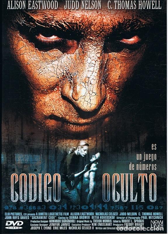 DVD CÓDIGO OCULTO JUDD NELSON (Cine - Películas - DVD)