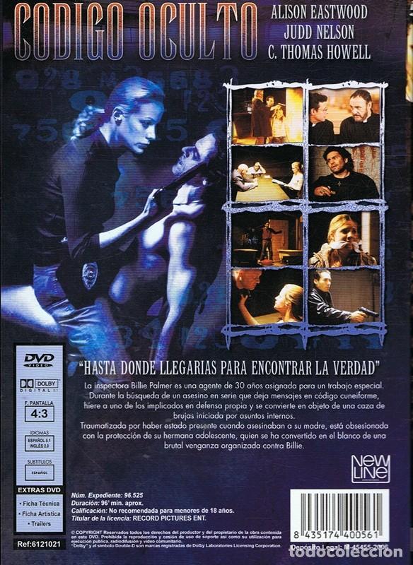 Cine: DVD CÓDIGO OCULTO JUDD NELSON - Foto 2 - 66852546