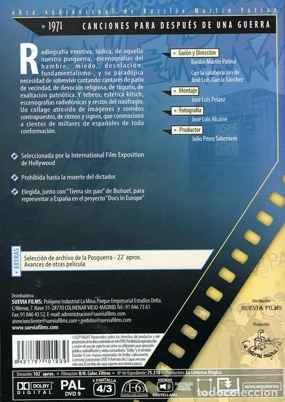 Cine: DVD CANCIONES PARA DESPUÉS DE UNA GUERRA - Foto 2 - 66856118