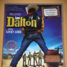 Cine: LOS DALTON CONTRA LUCKY LUKE, DVD. ERCOM. Lote 66935870