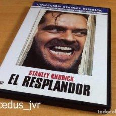 Cine: EL RESPLANDOR STANLEY KUBRICK PELÍCULA EN DVD CINE DE TERROR EXCELENTE ESTADO. Lote 66964278
