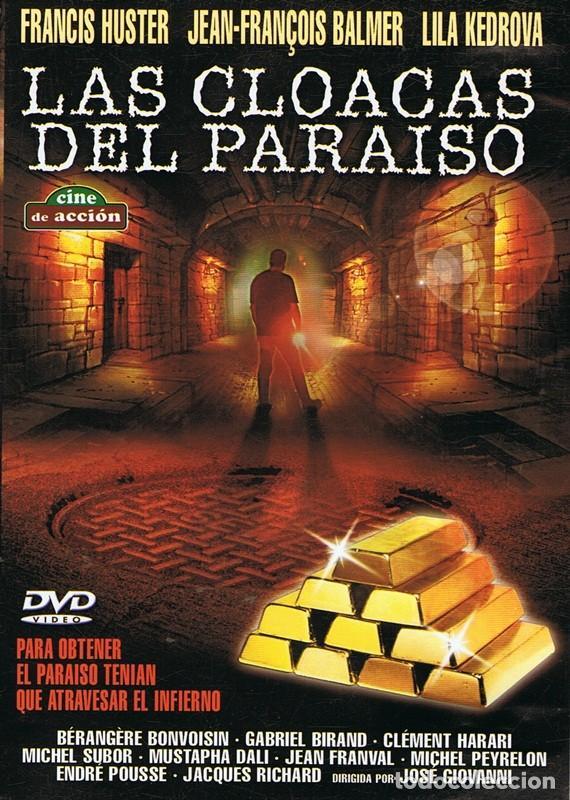 DVD LAS CLOACAS DEL PARAÍSO FRANCIS HUSTER (Cine - Películas - DVD)
