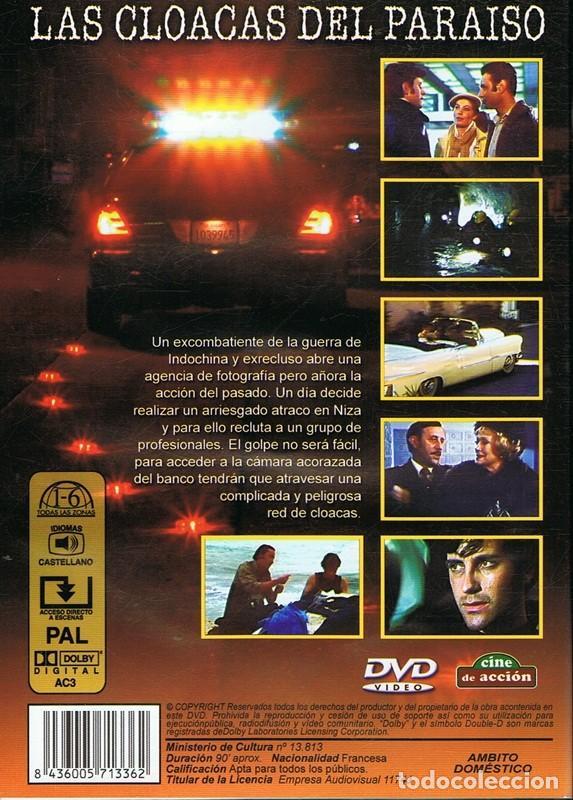 Cine: DVD LAS CLOACAS DEL PARAÍSO FRANCIS HUSTER - Foto 2 - 200198273