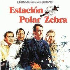 Cine: DVD ESTACIÓN POLAR ZEBRA ROCK HUDSON. Lote 66998642