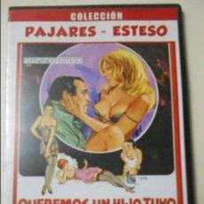 Cine: QUEREMOS UN HIO TUYO. DVD DE LA COLECCION PAJARES - ESTESO.. Lote 67339793