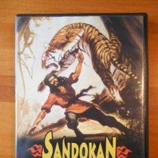 Cine: DVD SANDOKAN CONTRA EL LEOPARDO DE SARAWAK - RAY DANTON - GUY MADISON (O5). Lote 67375573