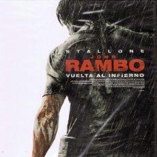 Cine: DVD JOHN RAMBO VUELTA AL INFIERNO STALLONE (PRECINTADO). Lote 67458789
