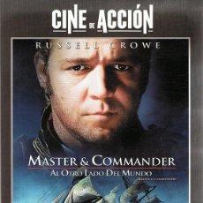 Cine: DVD MASTER & COMMANDER RUSSELL CROWE . Lote 67466529