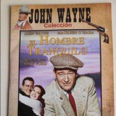 Cine: EL HOMBRE TRANQUILO. DVD DE LA PELICULA DE JOHN FORD. CON JOHN WAYNE Y MAUREEN O'HARA. ESTUCHE FINO . Lote 67710861