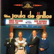 Cine: DVD UNA JAULA DE GRILLOS ROBIN WILLIAMS. Lote 67718469