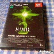 Cine: MIMIC 2 PELÍCULA EN DVD TERROR EN BUEN ESTADO. Lote 67787989
