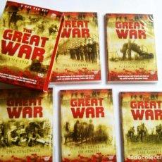 Cine: THE GREAT WAR 1914-1918; SERIE DOCUMENTAL EN INGLÉS, 5 DVDS SOBRE LA PRIMERA GUERRA MUNDIAL. OCASIÓN. Lote 67966537