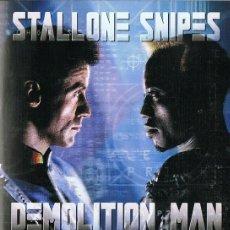 Cine: DVD DEMOLITION MAN STALLONE & SNIPES. Lote 68106549