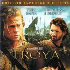 Cine: DVD TROYA BRAD PITT & ORLANDO BLOOM (EDICIÓN ESPECIAL 2 DISCOS). Lote 68127697