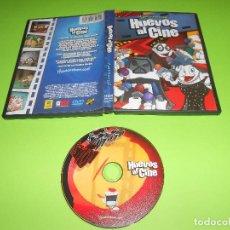 Cine: HUEVOS AL CINE - DVD - FINALMENTE LAS PELICULAS TIENEN HUEVOS - EGG T - HUEVO POTTER .... Lote 68176613
