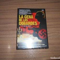 Cine: LA CENA DE LOS COBARDES DVD NAZIS NUEVA PRECINTADA. Lote 189831266