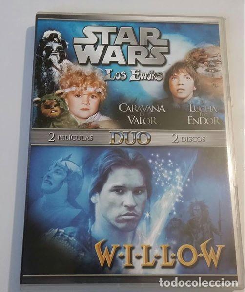 DOBLE PACK DVD STAR WARS LOS EWOKS WILLOW (Cine - Películas - DVD)