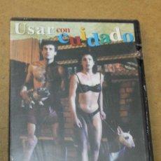 Cine: DVD USAR CON CUIDADO PRECINTADA. Lote 68401837