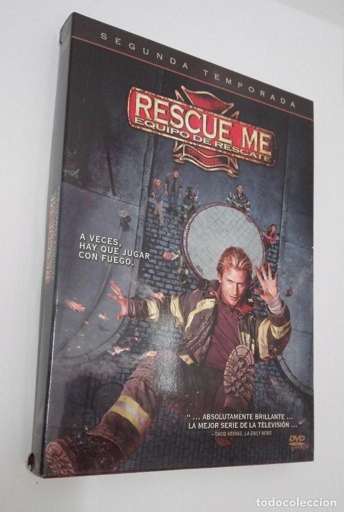 RESCUE ME EQUIPO DE RESCATE *** SEGUNDA TEMPORADA (Cine - Películas - DVD)