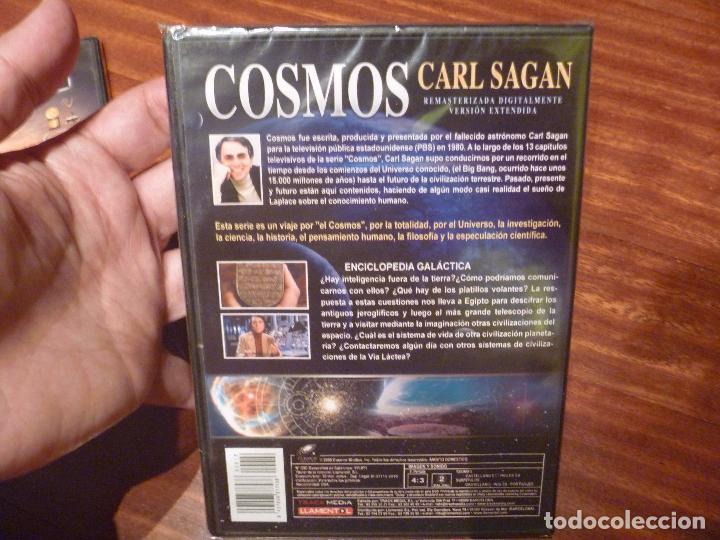 Cine: Cosmos DVD 12 Coleccion Carl Sagan precintados - Foto 3 - 68502657