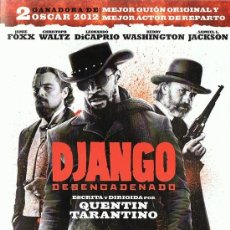 Cine: DVD DJANGO DESENCADENADO FOXX ,WALTZ ,DI CAPRIO. Lote 68544081