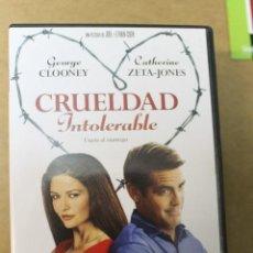 Cine: DVD CRUELDAD INTOLERABLE. Lote 68545225