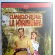 Cine: DVD CUANDO RUGE LA MARABUNTA - CHARLTON HESTON. Lote 68568557