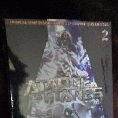 Cine: DVD ATAQUE A LOS TITANES (2013) - TEMPORADA 1: PARTE 2 (EPISODIOS 13-25). Lote 68761277