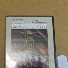 Cine: DVD LOS SIETE MAGNIFICOS COLECCION CINE PLATINUM PRECINTADA. Lote 68784097
