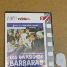 Cine: DVD LAS INVASIONES BARBARAS PRECINTADO. Lote 68785257